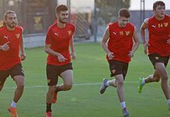 Göztepede Konyaspor maçı hazırlıkları