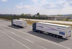 Yükleri 'sürücüsüz konvoy'la taşıyacak