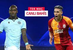 Club Brugge - Galatasaray maçı canlı bahis heyecanı Misli.comda