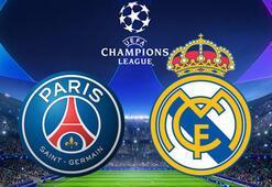 PSG-Real Madrid maçı bu akşam saat kaçta hangi kanalda