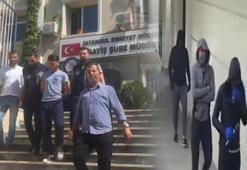 Polisten kaçarken kaza yapan hırsızlık şüphelileri yakalandı