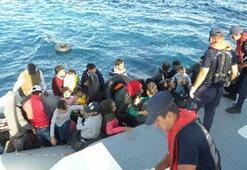 İzmirde 234 düzensiz göçmen yakalandı