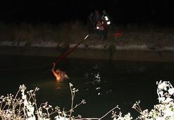Sulama kanalına giren genç çoban boğuldu
