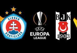 Slovan Bratislava-Beşiktaş maçı muhtemel 11ler Maç saat kaçta hangi kanalda
