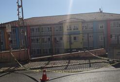 Okul önünde pompalı maganda dehşeti
