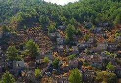 Hayalet Köyden ilginç manzara