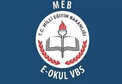 Devamsızlık bilgisi, ders programı, sınav notları için e okul vbs giriş sayfası
