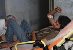 Sınırda şok 5i de yaralı halde bulundu