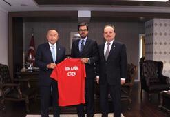 Nihat Özdemirden TRT Genel Müdürü İbrahim Erene ziyaret