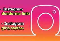 Instagram dondurma nasıl yapılır Instagram dondurma linki haberimizde