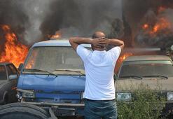 Bursada 24 aracın küle döndüğü yangını çıkaran kişi yakalandı