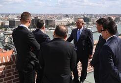 Dışişleri Bakanı Çavuşoğlu Macaristanda