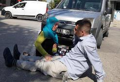 Kaza yaralanan gencin anne feryadı