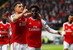 Arsenal, Frankfurtu dağıttı