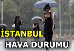 İstanbullular dikkat Yağışlı hava...
