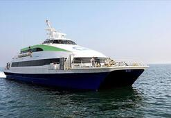 Marmarada deniz ulaşımına fırtına engeli Seferler iptal edildi