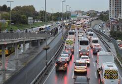 İstanbul trafikte son durum: Durma noktasında