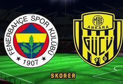 Fenerbahçe - Ankaragücü maçı ne zaman saat kaçta hangi kanalda