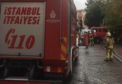 Son dakika... İstanbulda otel inşaatında yangın