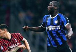 Dev derbide Inter, Milanı devirdi Zirveye oturdu...