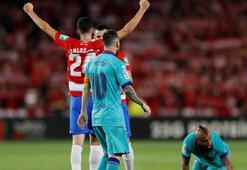 Barcelonada şok yenilgi Messi...