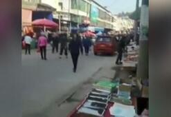 Çinde kamyon kalabalığın arasına daldı 10 ölü, 16 yaralı