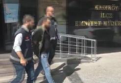 Kadıköyde bir kişiyi silahla yaralayan şüpheli yakalandı