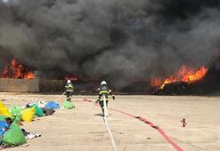 Kırıkkalede fabrika yangını