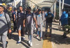 Trabzonspor kafilesi Sivasa gitti