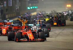 Vettelden sezonun ilk zaferi Hamilton podyum dışı kaldı...