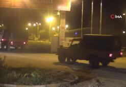 Akçakale sınırına askeri araç sevkiyatı yapıldı