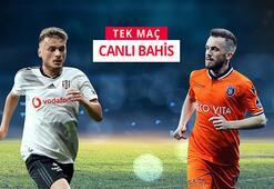Beşiktaş - Başakşehir maçının canlı bahis heyecanı Misli.comda
