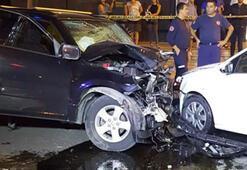 Antalyada feci kaza: 2 ölü, 6 yaralı