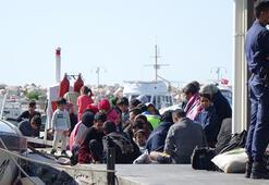 Çanakkalede 90 düzensiz göçmen yakalandı