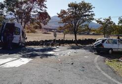 Kayseri'de korkutan kaza Yaralılar var