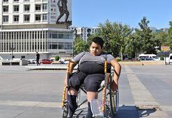 Engelli Şeyhmusa Selçuk İnandan destek