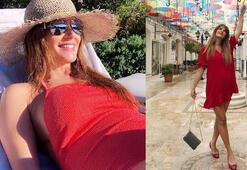 Yedi aylık hamile Tülin Şahin kaç kilo aldı