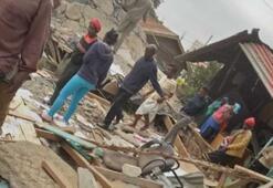 Kenyada bir okulun çatısı çöktü