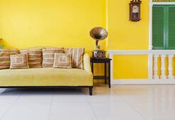 Ev dekorasyonunda sarı renk nasıl kullanılır