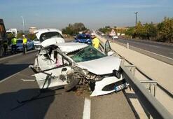 Bursada korkunç kaza