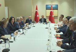 Cumhurbaşkanı Erdoğan, ABDdeki Yahudi kuruluş temsilcileriyle görüştü