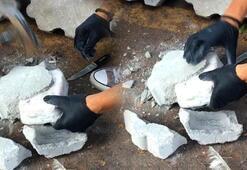 Türkiyede ilk kez oldu Taşlar kırılınca içinden bakın ne çıktı