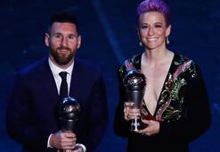 FIFA yılın futbolcusu Messi