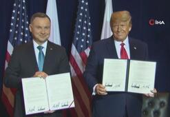 ABD, Polonyadaki asker sayısını 5 bin 500e çıkaran anlaşmayı imzaladı