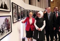 Cumhurbaşkanı Erdoğan New Yorkta Ara Güler sergisini açtı