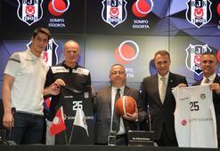 Beşiktaş, Sompo Sigorta ile yeni sözleşme imzaladı