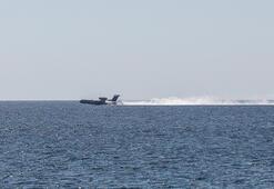 Yer: Antalya... Denizde böyle görünce düştü sandılar ama...