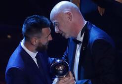 Messi ödüle doymuyor