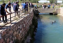Ayağı kayıp sulama kanalına düşen işçiden acı haber