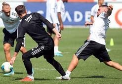 Beşiktaşta Trabzonspor maçı hazırlıkları başladı